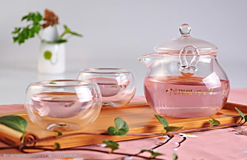 清新玫瑰花茶