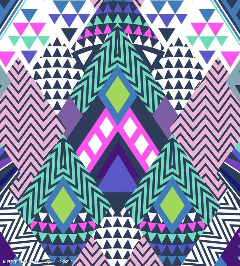 设计图案素材几何底纹设计