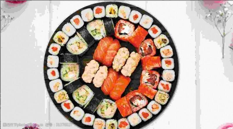 其他展板设计寿司