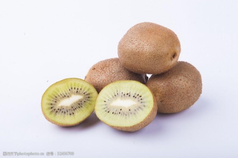 水果汁实物图摄影图水果猕猴桃
