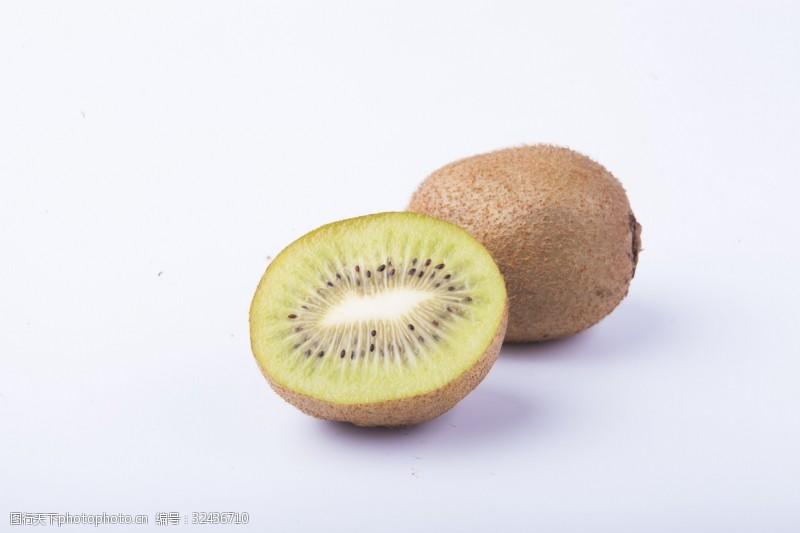 水果汁实物图摄影图水果猕猴桃1