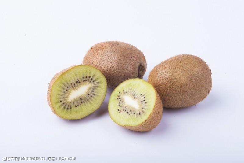 水果汁实物图摄影图水果奇异果