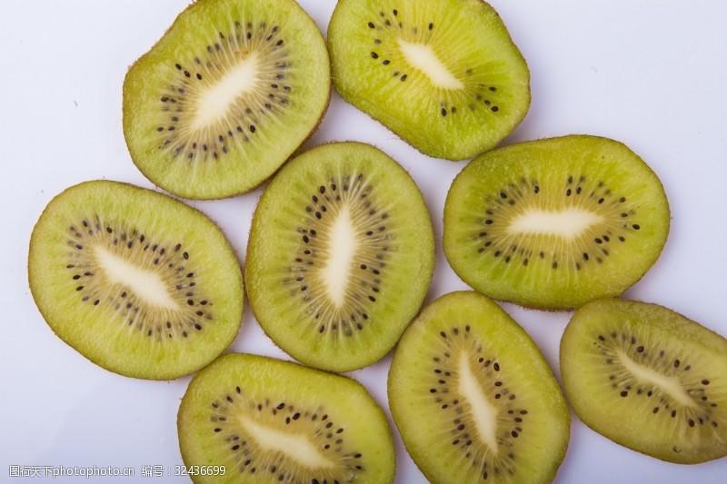 水果汁新鲜水果猕猴桃实物图摄影图