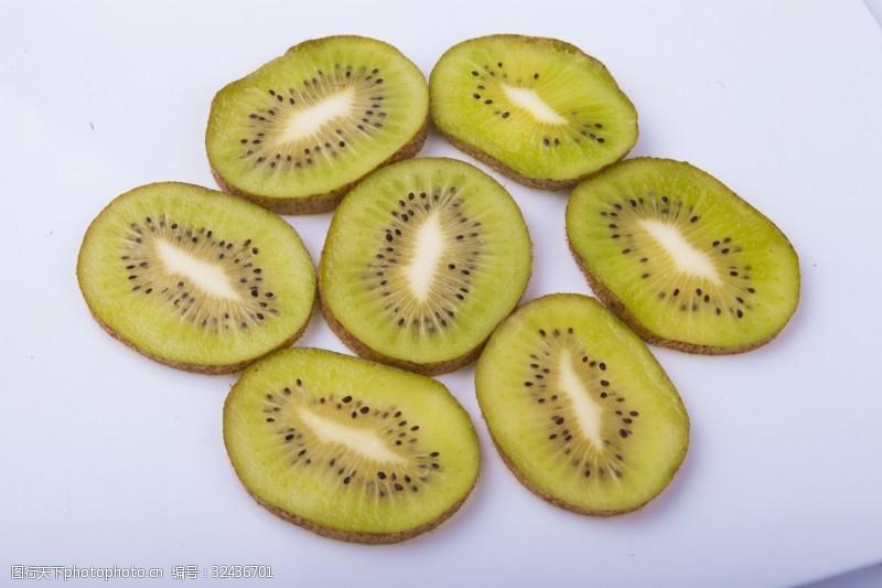 水果汁新鲜水果猕猴桃实物图摄影图2