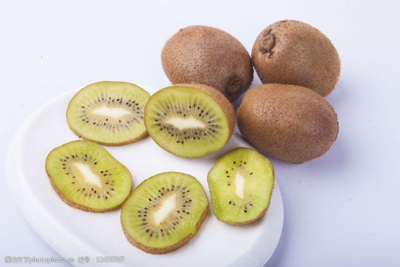 水果汁新鲜水果猕猴桃实物图摄影图3