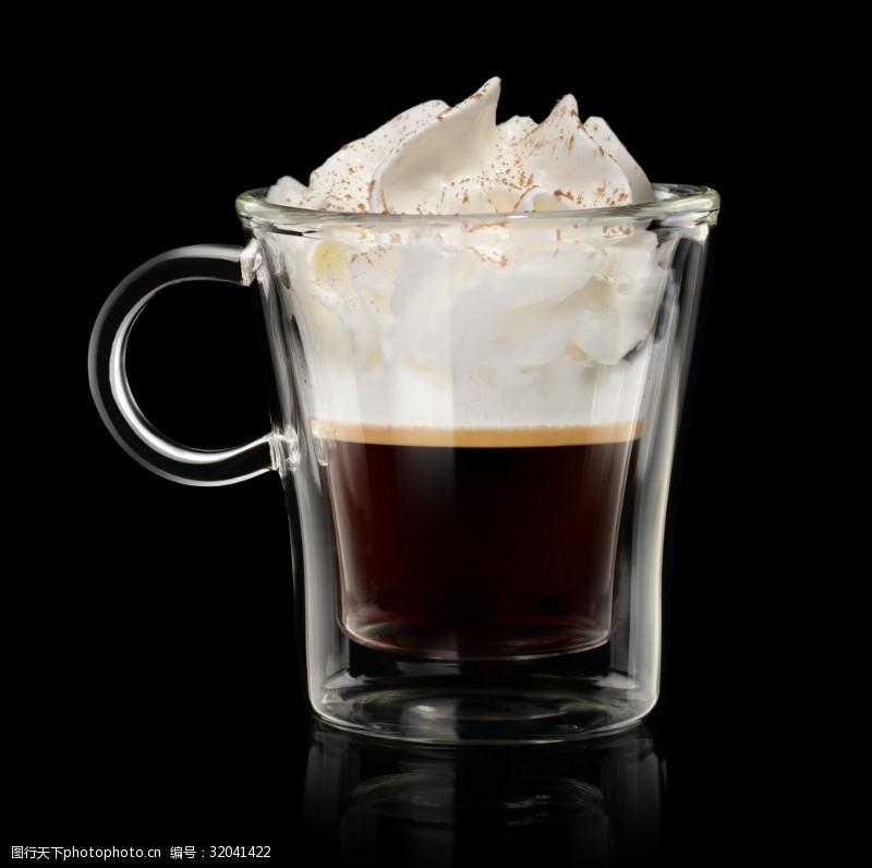 美味的卡夫奇诺咖啡
