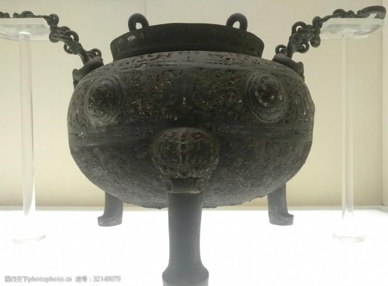 青铜器曾侯乙文物盛水器