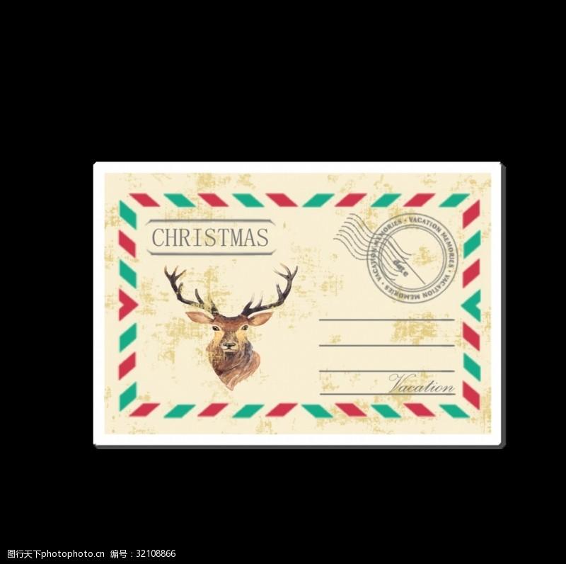 欧美贴纸设计邮票