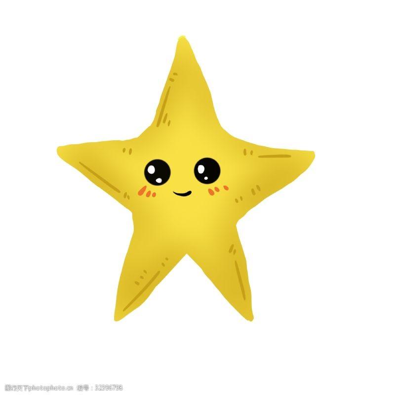 海星创意设计世界海洋日卡通海星