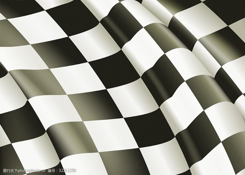 黑白格图片黑白格旗