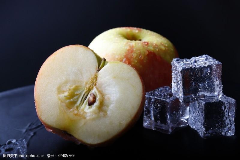 水果汁苹果红色香甜新鲜水果
