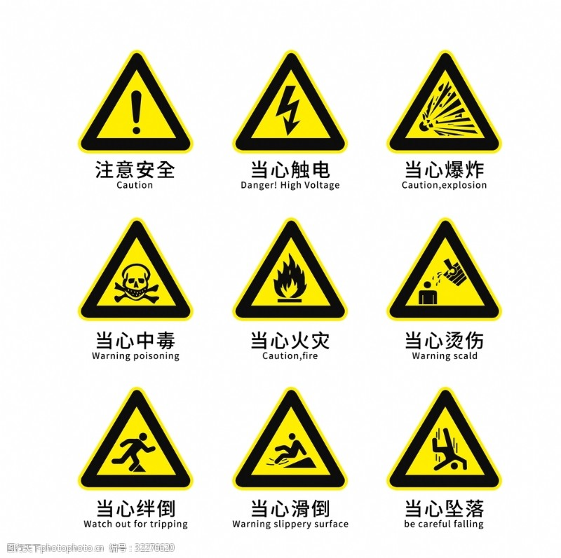 工地英文注意安全