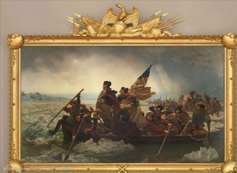 战争题材拿破仑油画