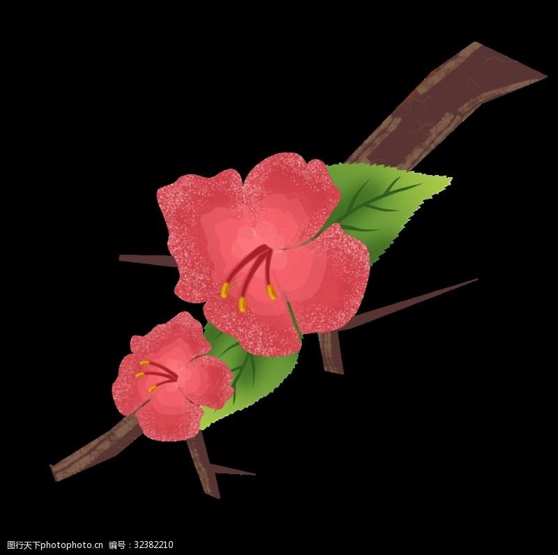花草装饰素材装饰花草