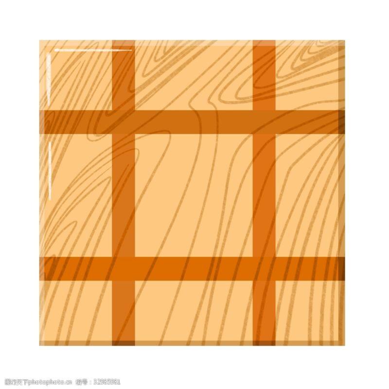 木质棕色木材木板插图