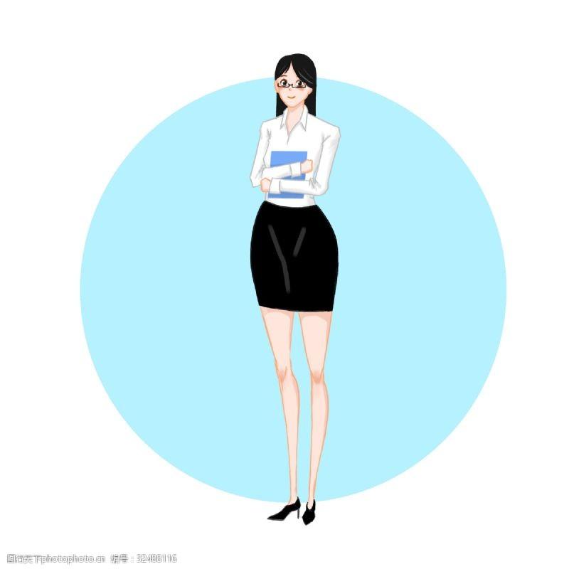 女秘书秘书节—秘书形象元素