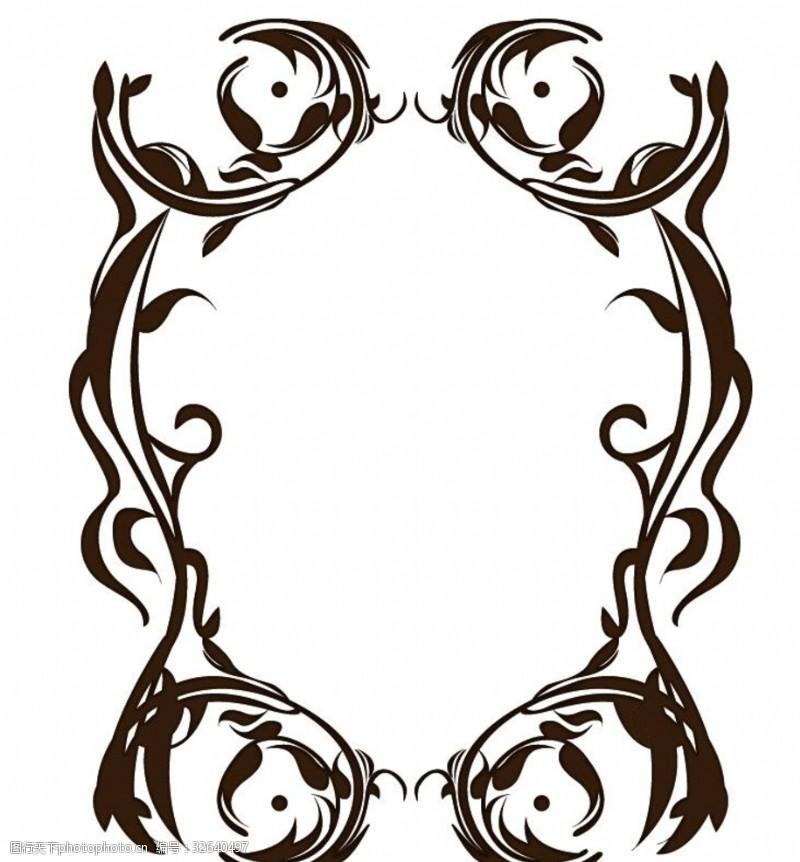 证书边框装饰欧式边框