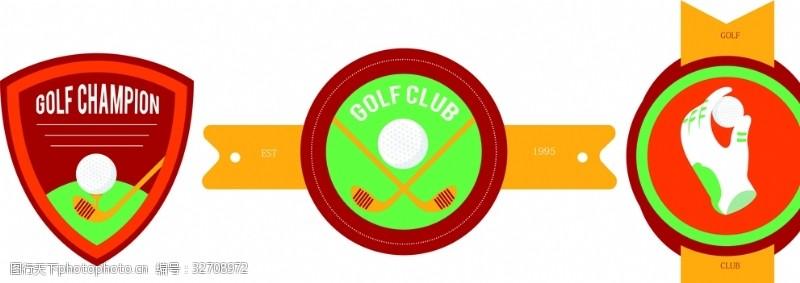 奖杯高尔夫球车帽子高尔夫