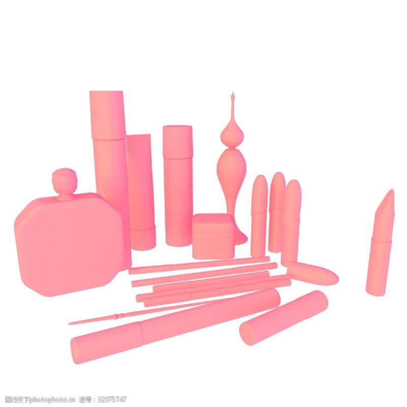 各种化妆品插图