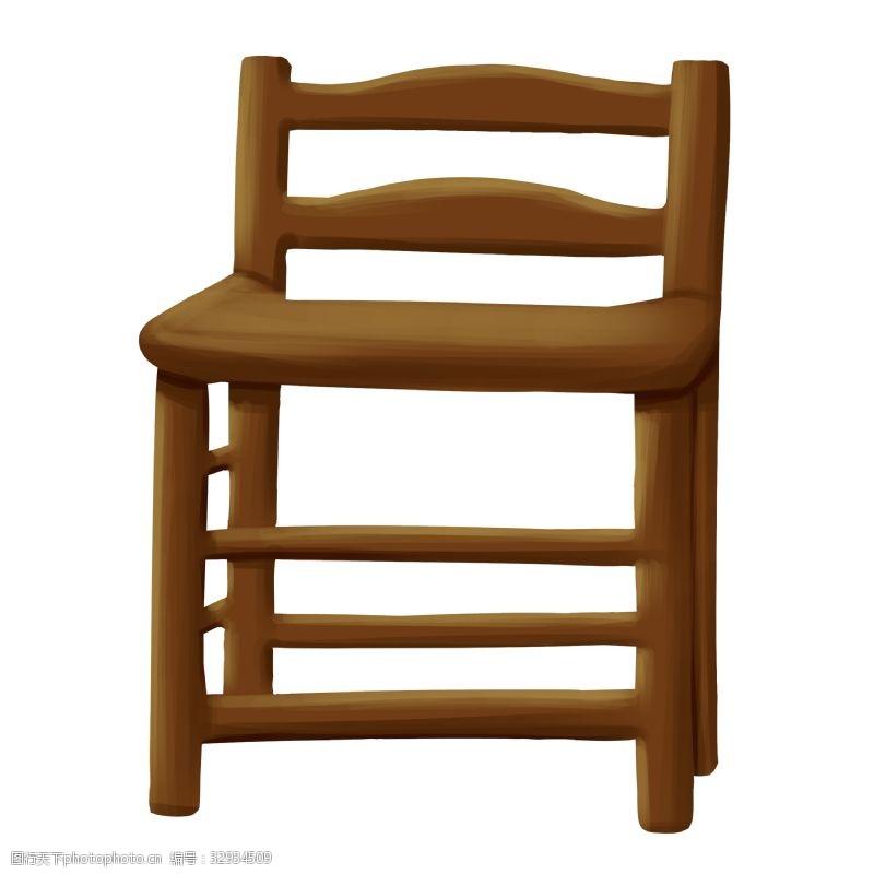 椅子木质卡通家具