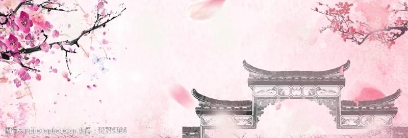 樱花广告樱花背景