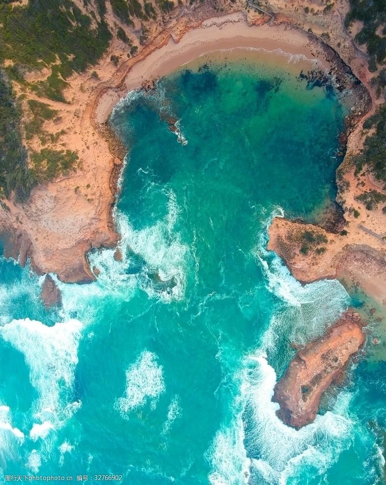 天堂岛海边