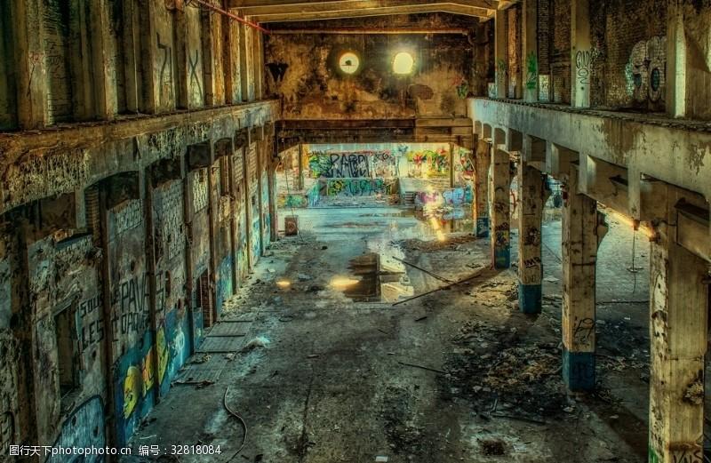 工作空间废弃的工厂空间