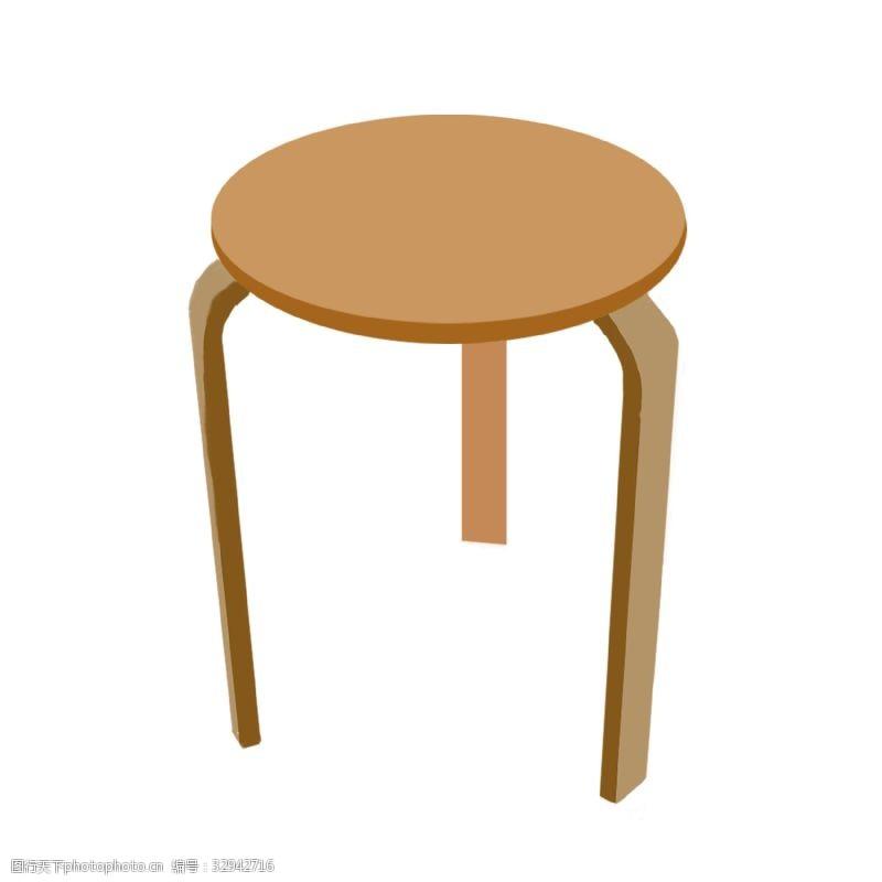运行木质椅子