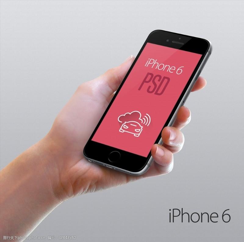 银白iPhone6展示样机