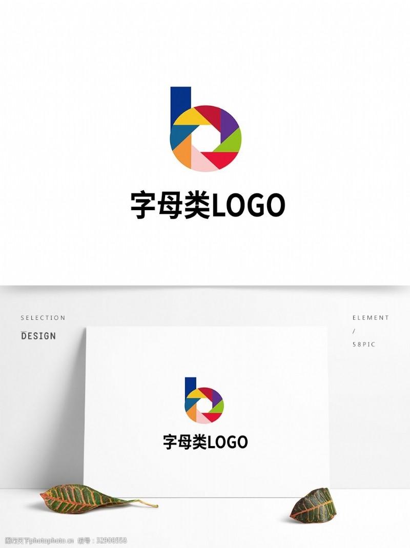 logo设计欣赏多彩字母类logo设计及
