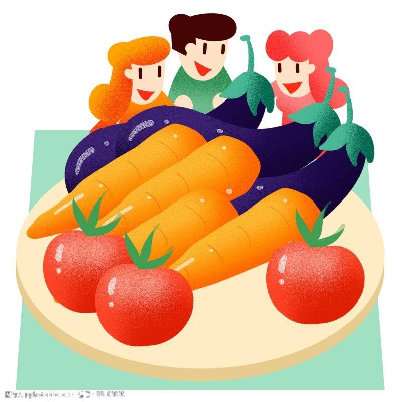 夏季蔬菜拼盘