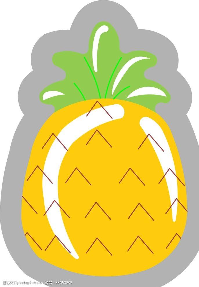 可爱卡通唯美动漫水果