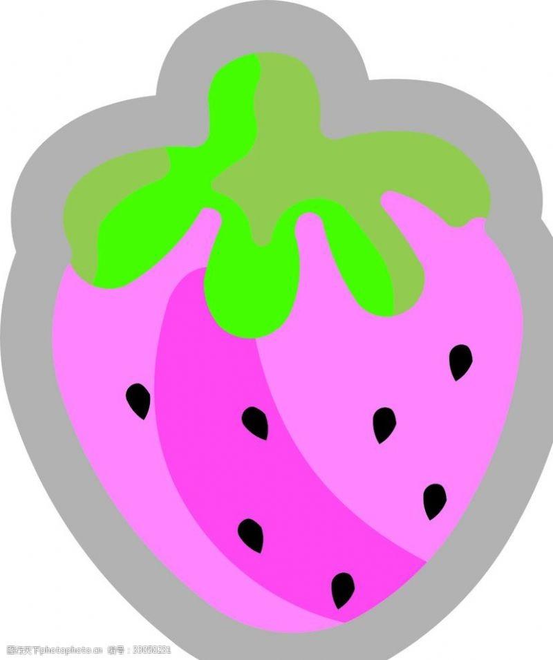 动漫水果可爱卡通唯美动水果免扣图