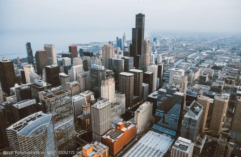 高建筑城市高楼