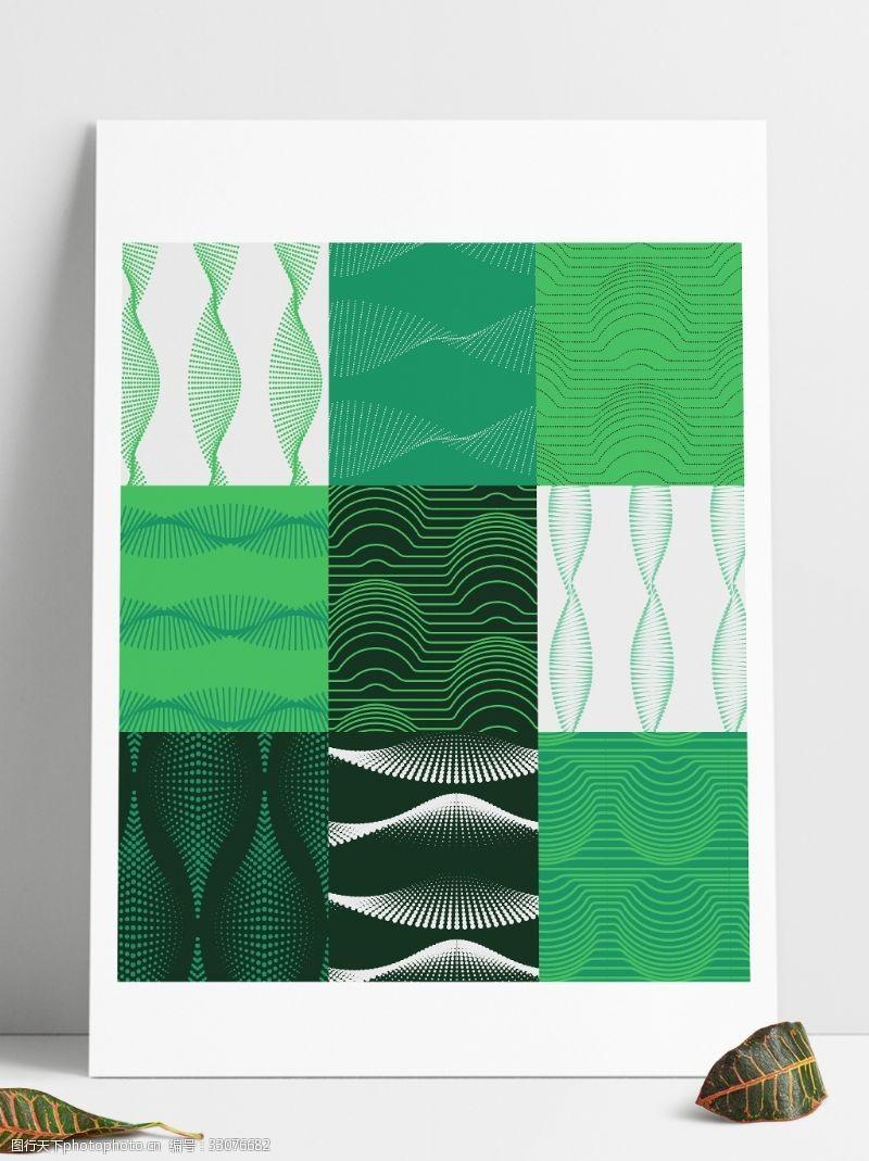 绿色线条图案填充pat文件
