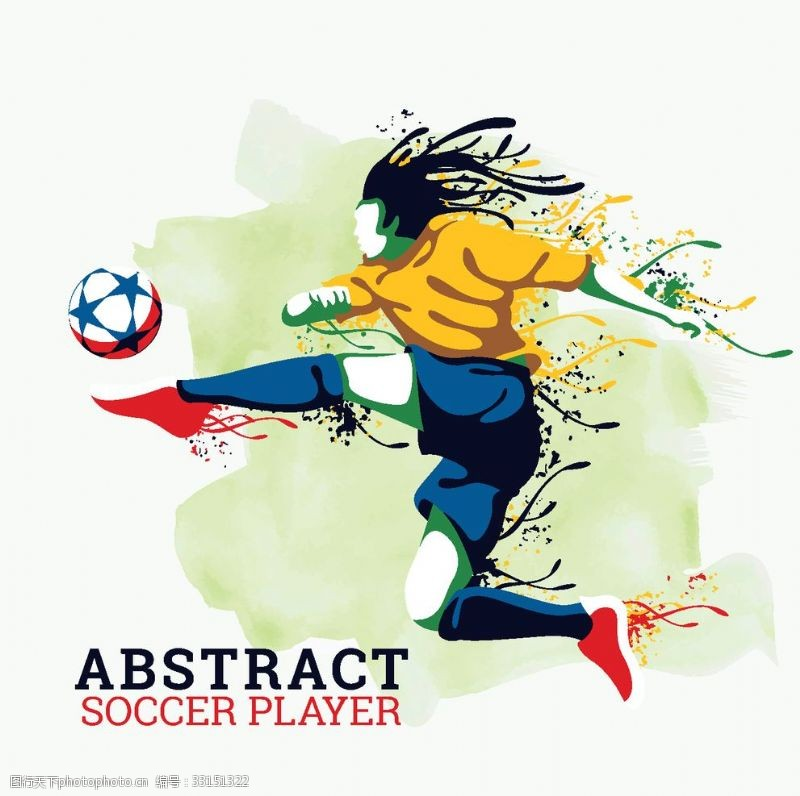 顶级足球比赛足球运动员