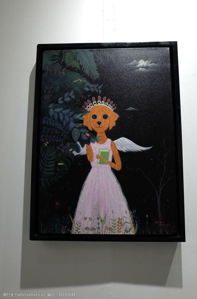 当代艺术油画