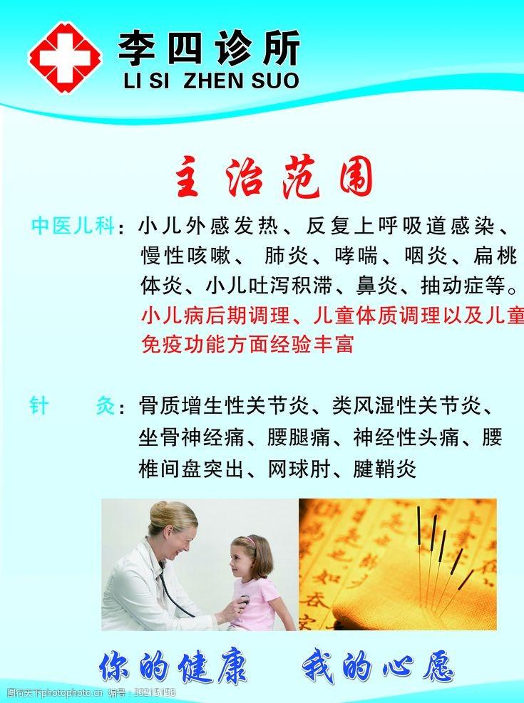 诊所药房诊所海报