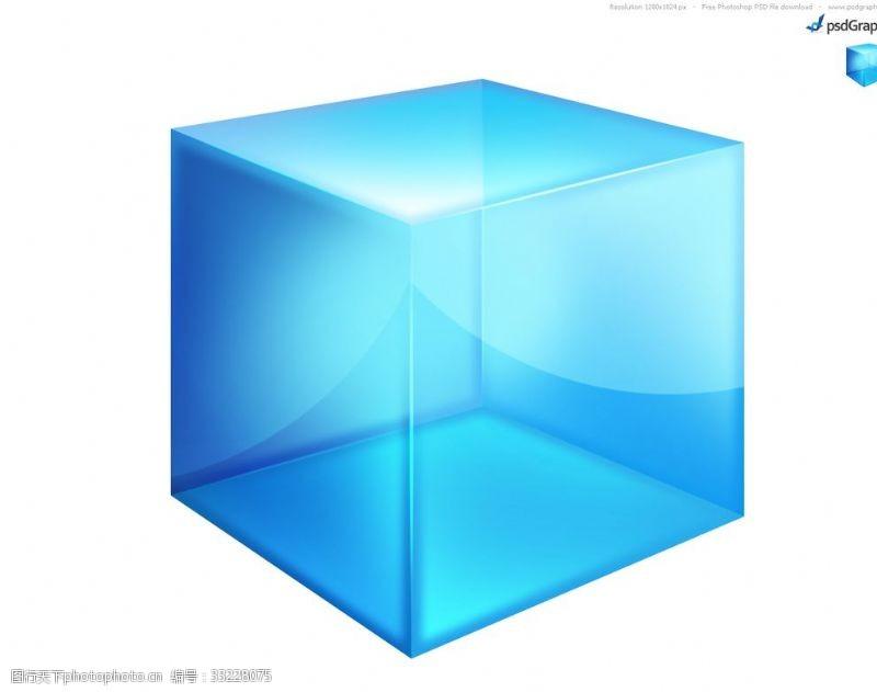 复合材料玻璃盒子