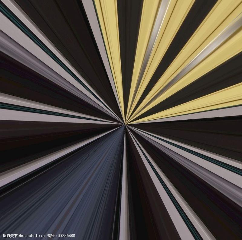 辐射背景视觉效果图