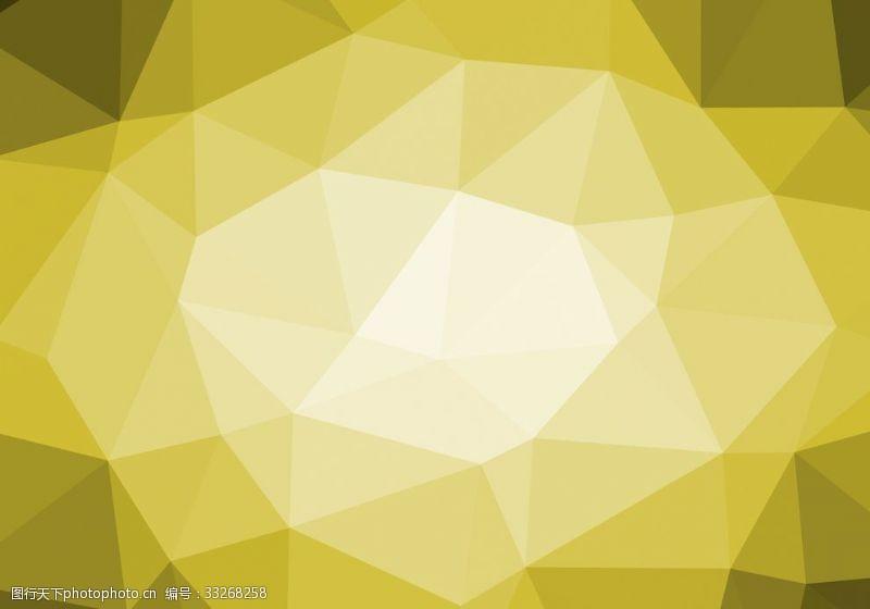 黄色钻石切割背景