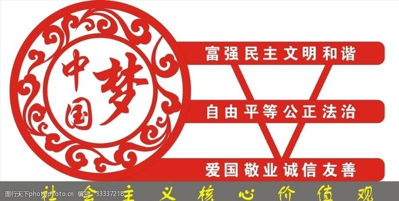 梦圆社合主义核心价值观