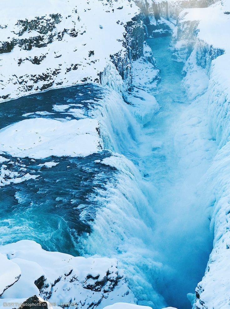 逆水行舟冰川河流